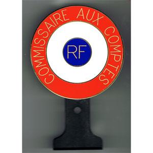 COCARDE TRICOLORE TEXTE PERSONNALISE - fixation tableau de bord 2