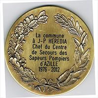 MEDAILLE HONNEUR LAURIERS bronze 4