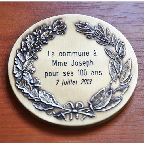 MEDAILLE HONNEUR LAURIERS bronze 3