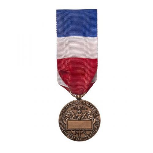 MEDAILLE D HONNEUR DE LA DEFENSE TERRE bronze 2