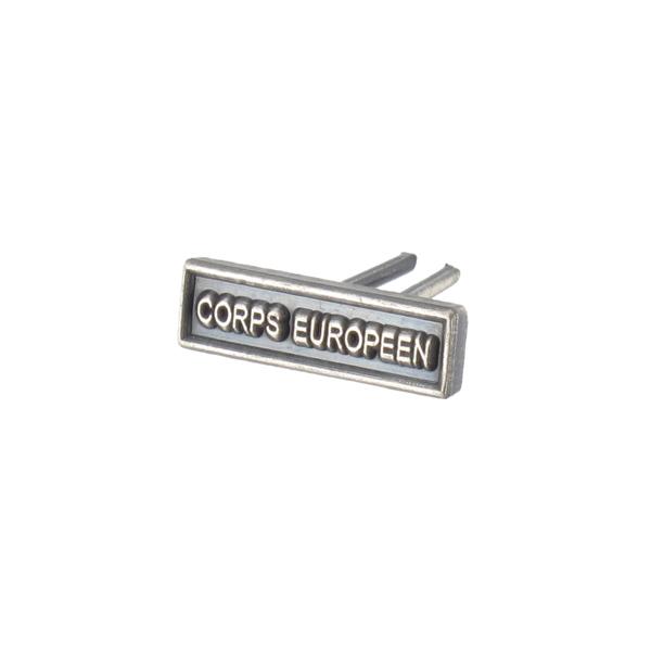 AGRAFE MINIATURE CORPS EUROPEEN
