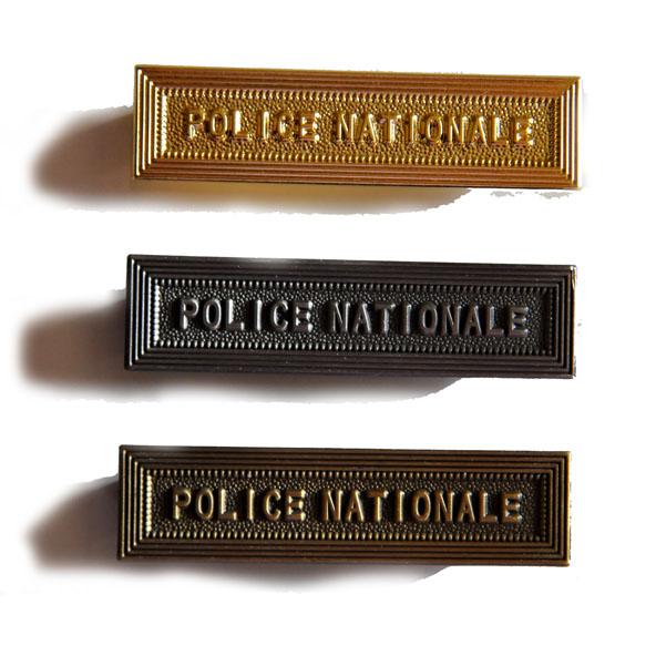 AGRAFE POLICE NATIONALE