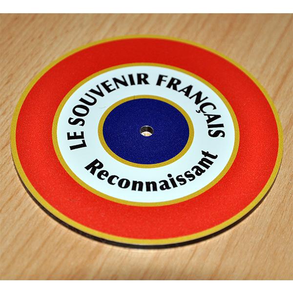 COCARDES DU SOUVENIR FRANCAIS pour tombe - lot de 25 ex