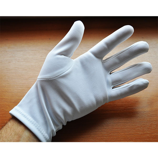 GANTS BLANCS DE CEREMONIE