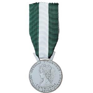 Médaille régionale départementale et communale 20 ANS ARGENT