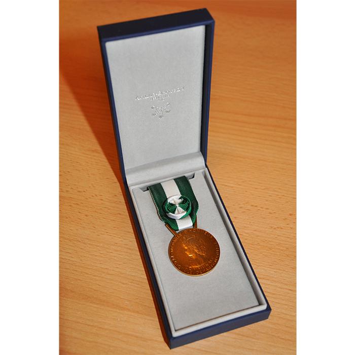MEDAILLE HONNEUR DEPT COMMUNALE 35 ANS OR bronze doré