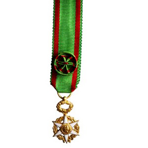 MEDAILLE MERITE AGRICOLE officier - reduction vermeil