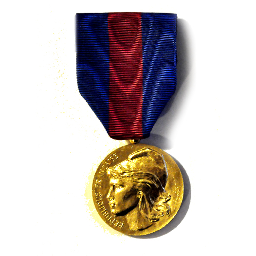 MEDAILLE SVM SERVICES MILITAIRES VOLONTAIRES bronze