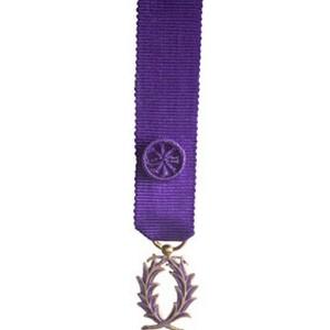PALMES ACADEMIQUES officier- reduction bronze dore