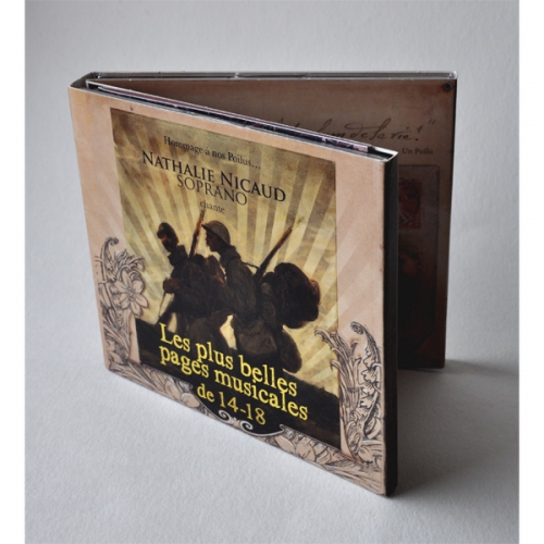 DOUBLE CD 26 CHANSONS - CENTENAIRE 14-18 6