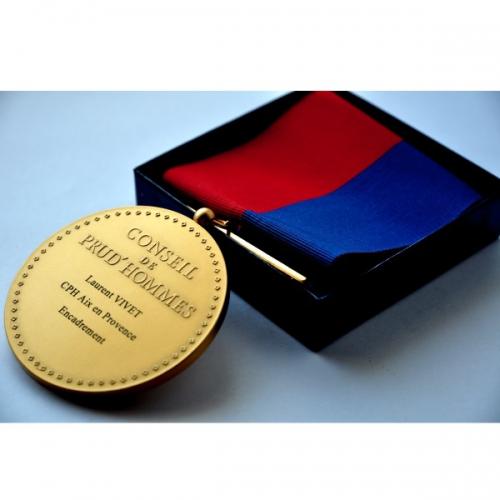 Médaille CONSEIL DES PRUDHOMMES Président CPH 8