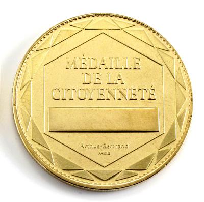 MEDAILLE DE LA CITOYENNETE 34mm 2