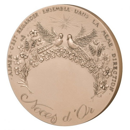 MEDAILLE NOCES D\'OR 50 ANS 2
