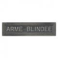 AGRAFE ARMEE BLINDEE