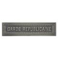 AGRAFE GARDE REPUBLICAINE