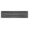 AGRAFE TROUPES AEROPORTEES