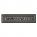 AGRAFE TROUPES ALPINES