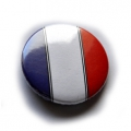 BADGE épingle FRANCE TRICOLORE 38mm