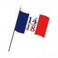 Drapeau du Centenaire 14-18 format 60x90cm