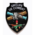 ECUSSON GROUPE DE COMBAT BRODE