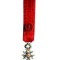 LEGION D HONNEUR OFFICIER miniature reduction argent