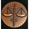 MEDAILLE DE LA JUSTICE - G. Vardanega - 68mm