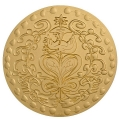 MEDAILLE DU MARIAGE bronze florentin - C. LACROIX 100mm