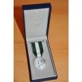 Médaille régionale départementale et communale 20 ANS bronze arg