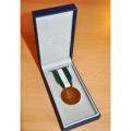 MEDAILLE HONNEUR DEPT COMMUNAL 30 ANS VERMEIL bronze doré
