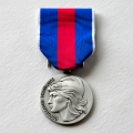 MEDAILLE SVM SERVICES MILITAIRES VOLONTAIRES argent