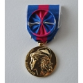 MEDAILLE SVM SERVICES MILITAIRES VOLONTAIRES OR