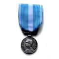 Médaille d'OUTRE MER ex colonial bronze argenté