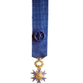 ORDRE NATIONAL DU MERITE OFFICIER miniature réduction argent