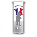 ORIFLAMME du Centenaire 14-18 - 40x120cm