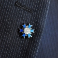 INSIGNE PINS ORDRE NATIONAL DU MERITE chevalier
